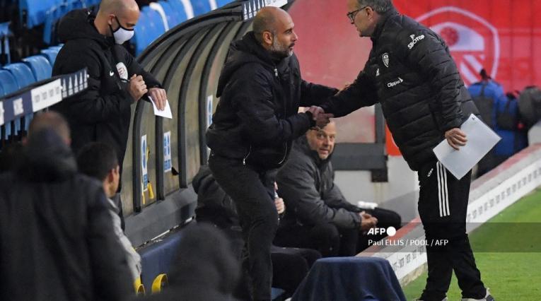 Marcelo Bielsa y Pep Guardiola