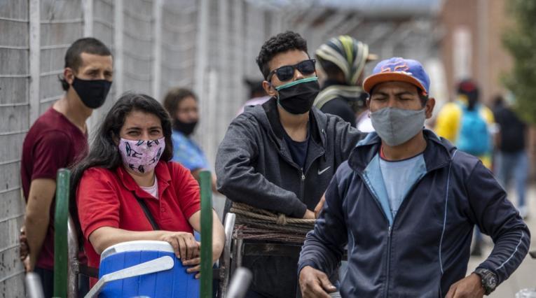 Pandemia en Bogotá