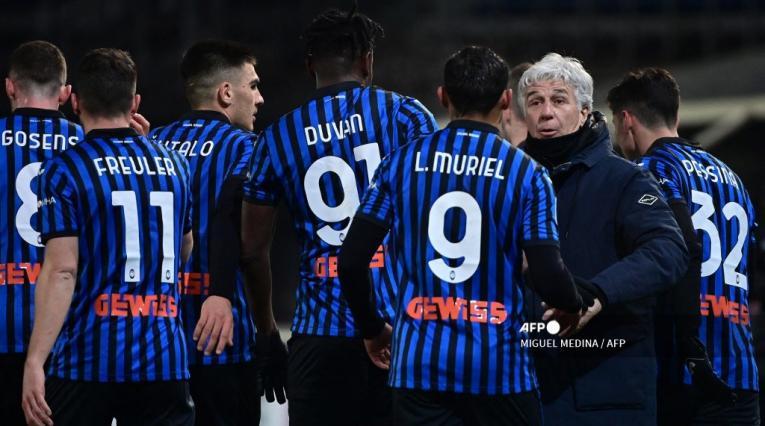 Atalanta 2021; Luis Muriel, Duván Zapata y Gian Piero Gasperini