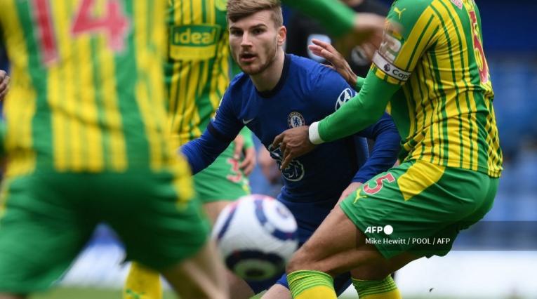Chelsea vs West Bromwich, Premier League