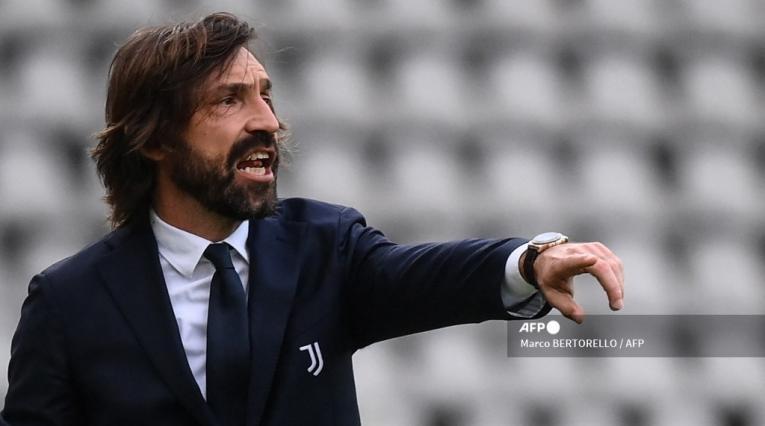 Andrea Pirlo, DT de la Juventus