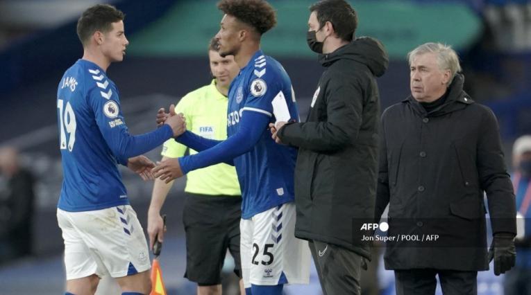 James Rodríguez, Everton 2021