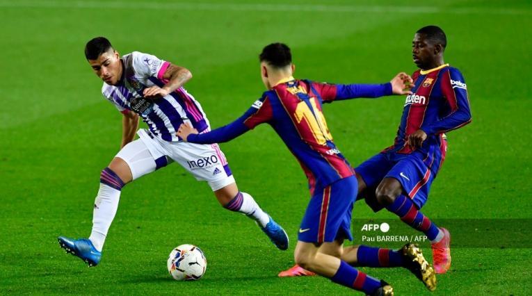 Barcelona 2021 vs Valladolid