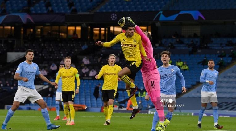Manchester City vs Borussia Dortmund; Champions League 2021