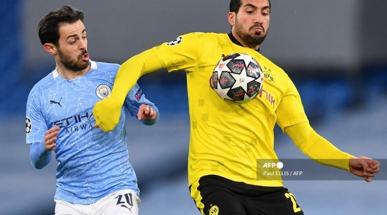 Manchester City vs Borussia Dortmund 2021