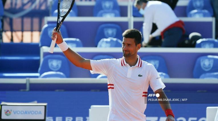 Novak Djokovic 2021, tenista serbio