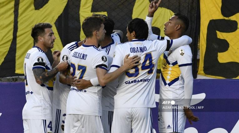 Boca Juniors 2021 vs The Strongest; Copa Libertadores