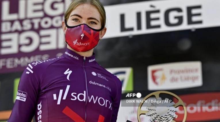 Demi Vollering, ciclista neerlandesa
