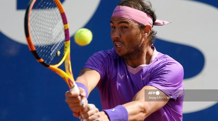 Rafael Nadal, tenista español 2021