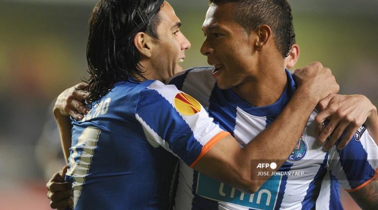 Falcao García y Fredy Guarín, Porto
