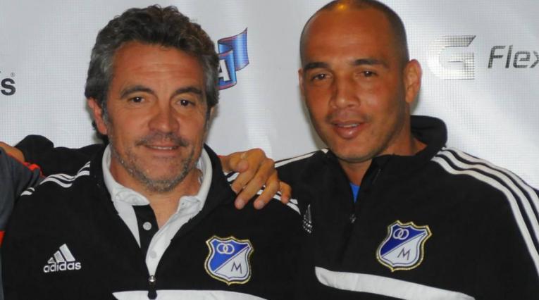 Juan Manuel Lillo y Mayer Candelo en Millonarios