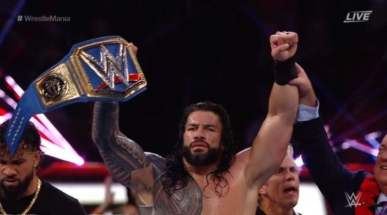 Roman Reigns - Wrestlemania