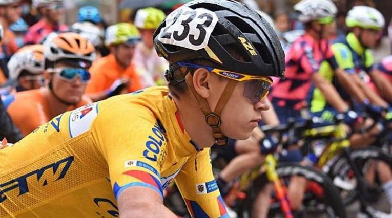 Didier Merchán, ciclista tolimense