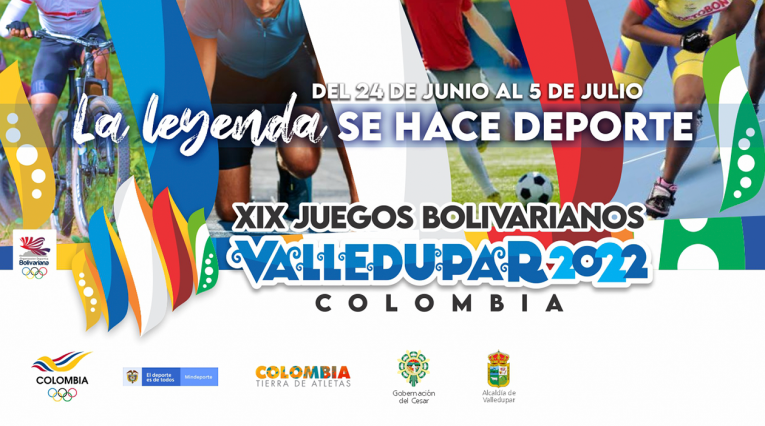 XIX Juegos Bolivarianos Valledupar 2022 - Antena 2