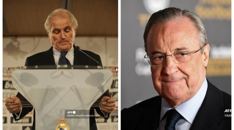 Ramón Calderón y Florentino Pérez