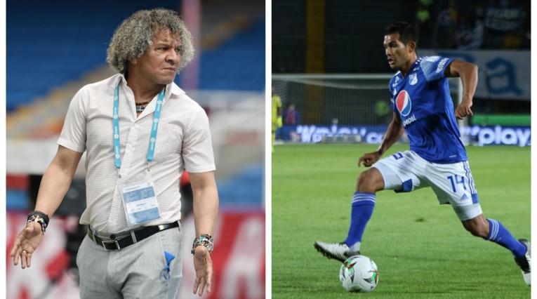 Alberto Gamero y David Silva; Millonarios