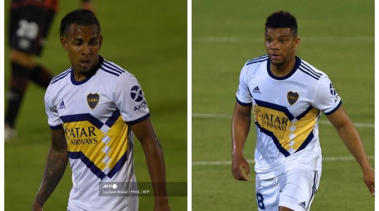 Sebastián Villa y Frank Fabra; Boca Juniors
