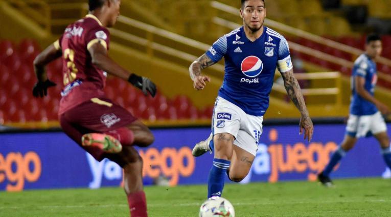 Millonarios vs Tolima; Liga Betplay 2021