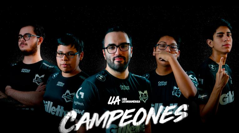 Equipo Gillette Infinity League of Legends