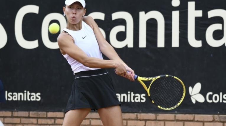 Tenista Yuliana Monroy