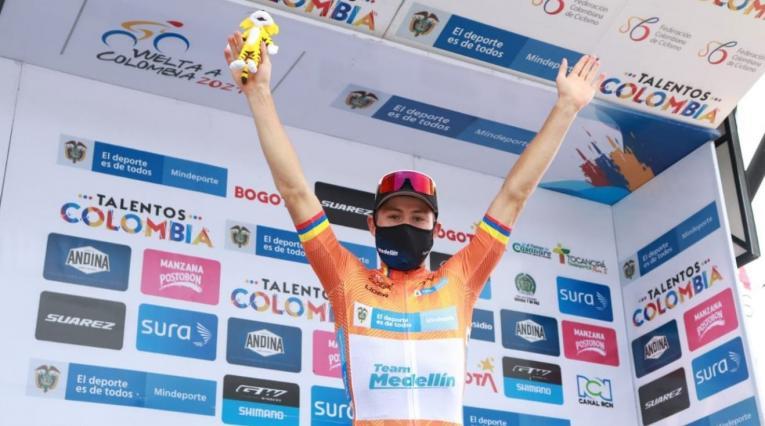 'Tito' Hernández es campeón de la Vuelta a Colombia