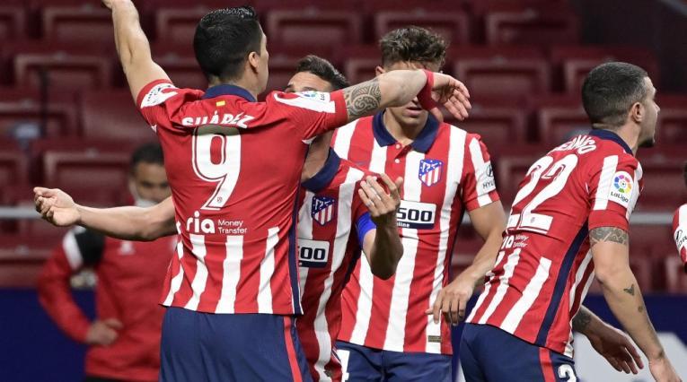 Atlético de Madrid, liga española 2021