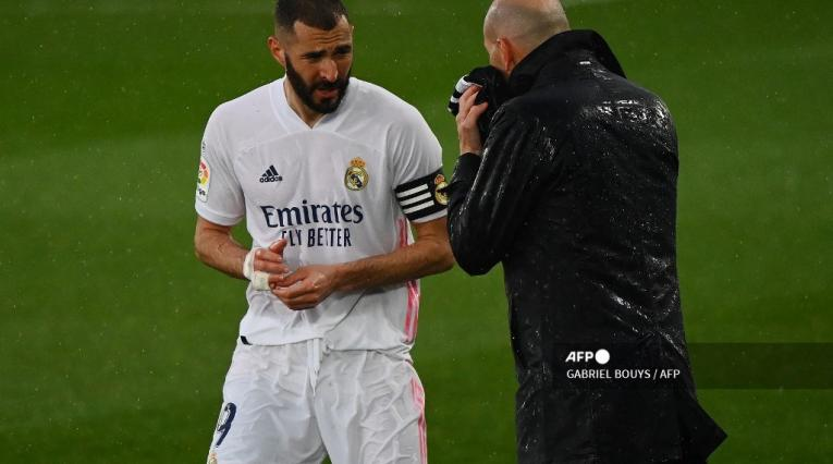 Benzemá y Zidane - Real Madrid