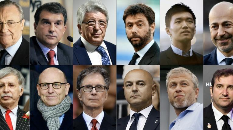 Presidentes de la Superliga Europea
