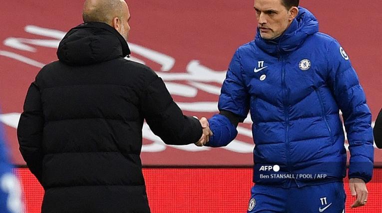 Pep Guardiola y Thomas Tuchel