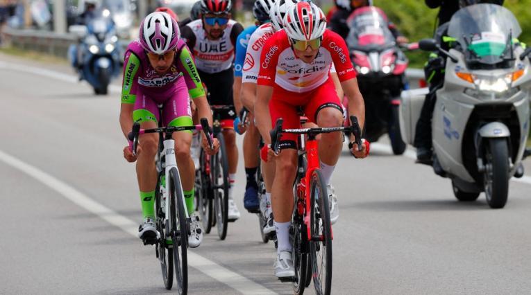 Victor Lafay, Giro de Italia 2021