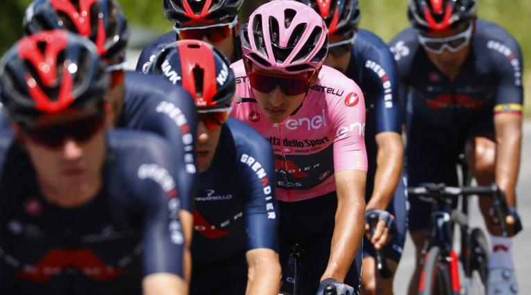 Giro de Italia 2021, Egan Bernal, Ineos