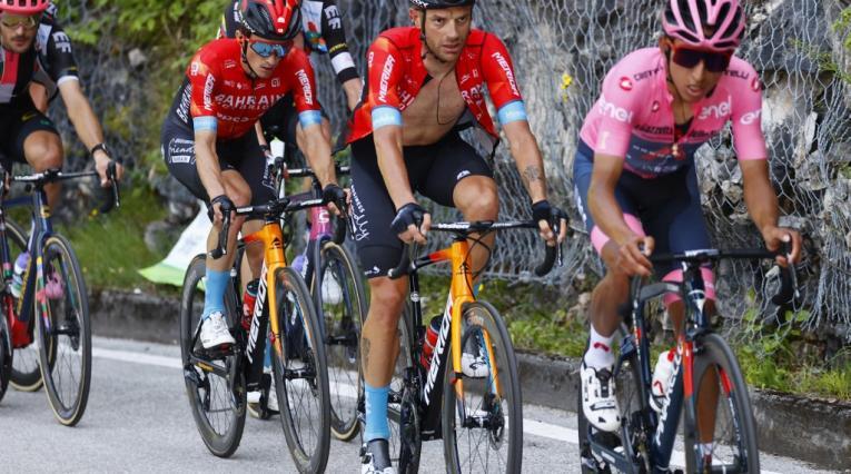 Egan Bernal y Damiano Caruso - Giro de Italia
