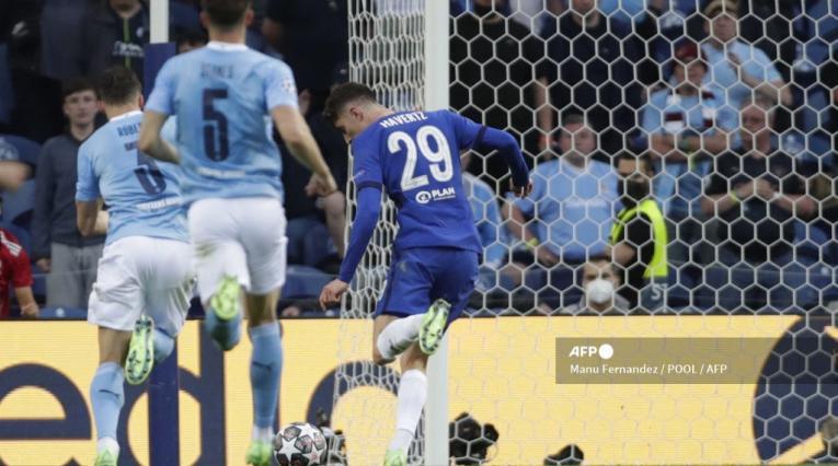 Gol de Chelsea en la final de Champions League