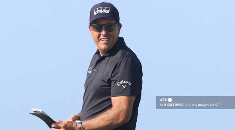 Phil Mickelson, golfista estadounidense