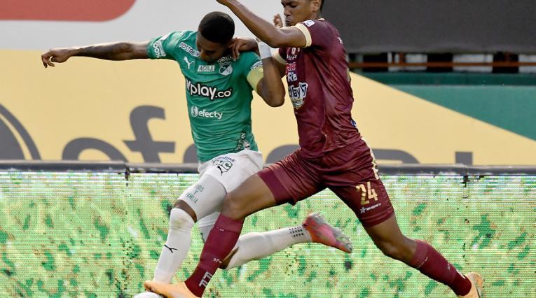 Deportio Cali vs Deportes Tolima, Liga Betplay 2021