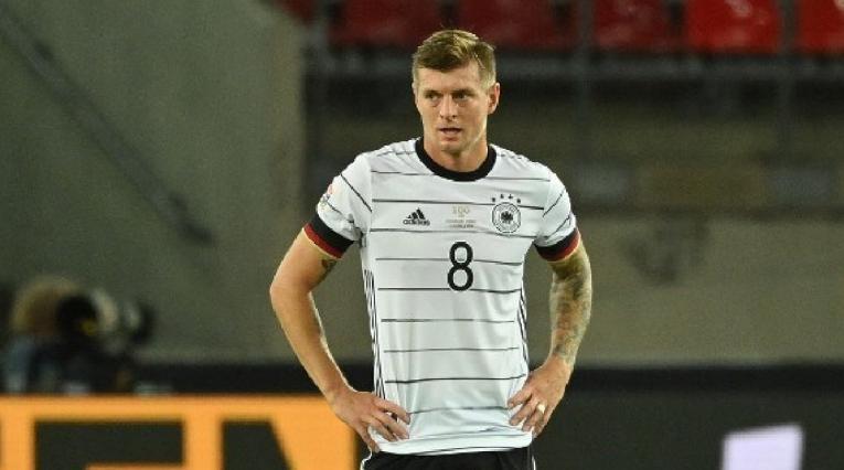 Toni Kroos, jugador de la Selección de Alemania