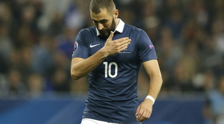 Karim Benzema, delantero de Francia