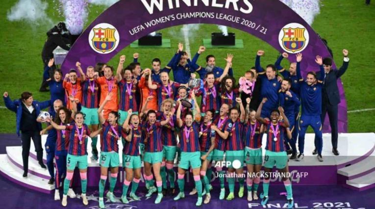 Barcelona - Champions femenina
