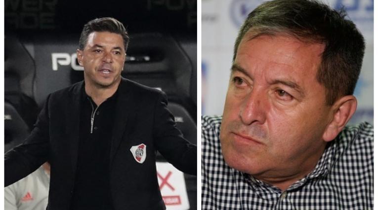 Marcelo Gallardo y Eduardo Méndez