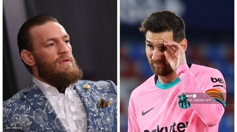 McGregos y Lionel Messi