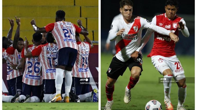 Junior y Santa Fe - Copa Libertadores