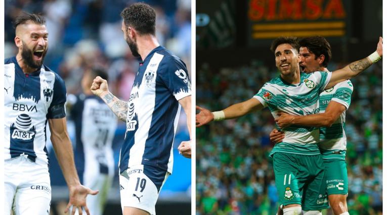 Monterrey vs Santos Laguna