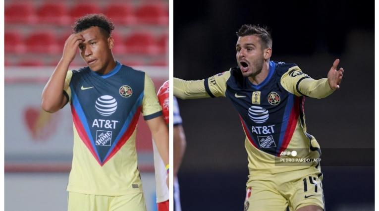Roger Martínez y Nicolás Benedetti; América de México