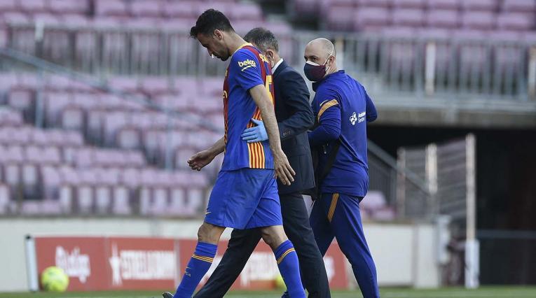 Sergio Busquets, jugador del Barcelona