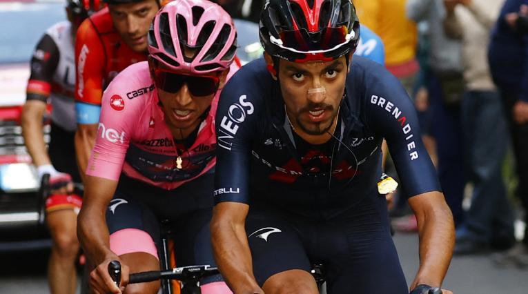 Daniel Martínez, Egan Bernal, Giro de Italia 2021