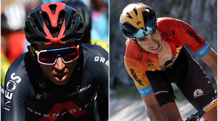 Egan Bernal y lo que dijo Mikel Landa antes del Giro