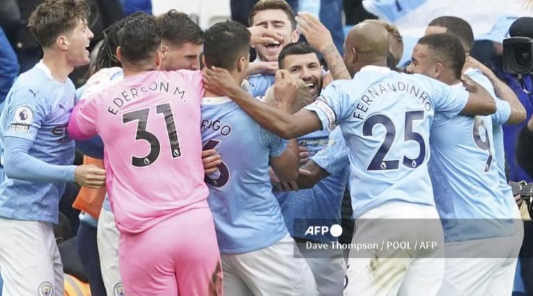 Sergio Agüero y su despedida del Manchester City