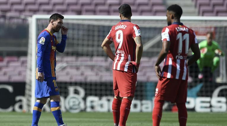 Messi y Luis Suárez, Barcelona vs Atlético