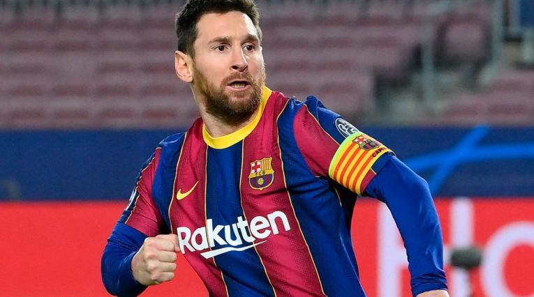 Messi, jugador del Barcelona 2021