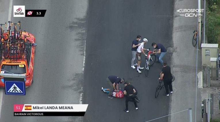 Míkel Landa, Giro de Italia